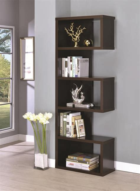 Home Bookcases by Home Office Bookcases Casual Cappuccino Bookcase