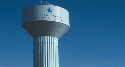 Pa American Water Pennsylvania American Water Elevated Steel Water Tank