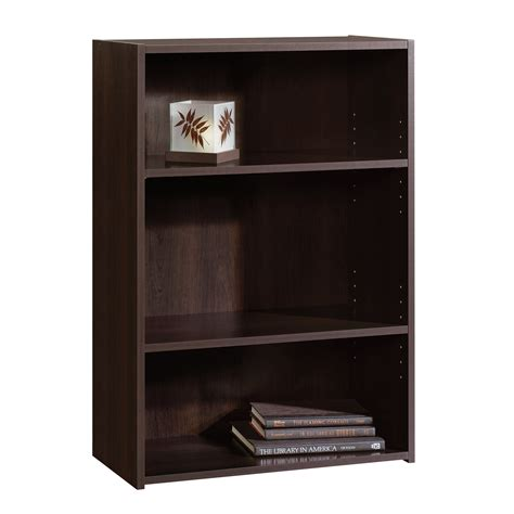 Sauder 3 Shelf Bookcase by Beginnings 3 Shelf Bookcase 409086 Sauder