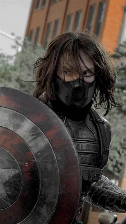 Soldier Winter Bucky Barnes Wallpapers Marvel Kahramanları