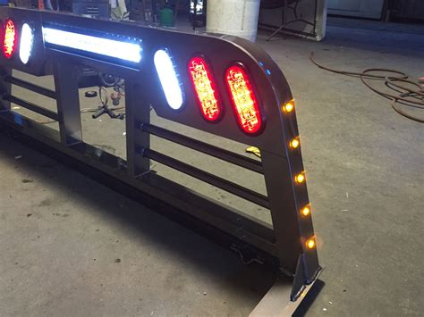 headache rack with lights headache racks tumbleweed mfg