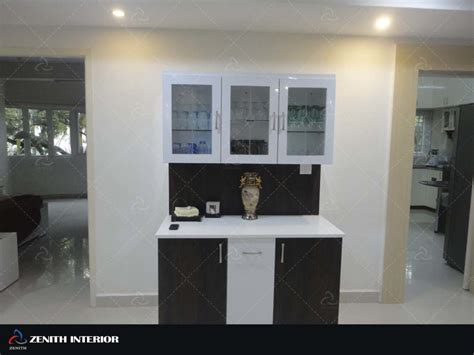 indian home interior designs crockery unit zenithinterior com