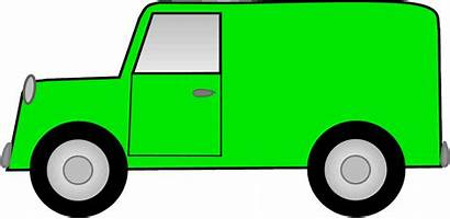 Van Delivery Truck Clipart Clip Moving Cliparts