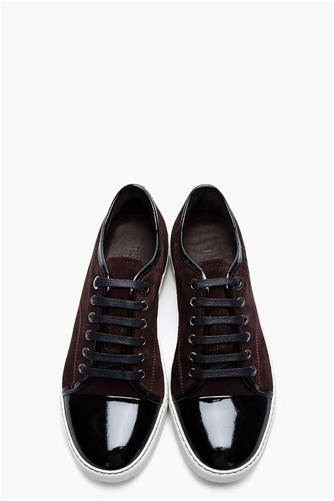 lanvin cap toe tennis sneakers collection soletopia
