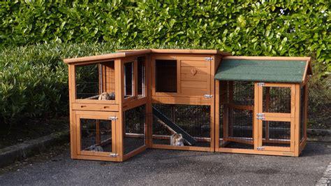 stall für kaninchen hasenstall mit gro 223 en auslauf animalhouseshop