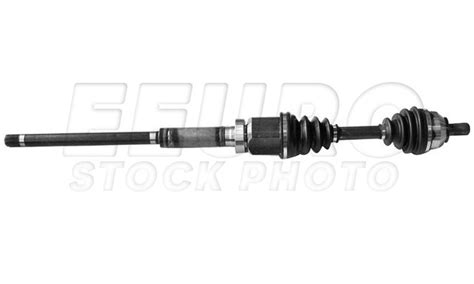 volvo axle assembly front passenger side auto trans new gsp axle ncv73552 fast