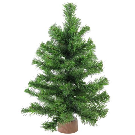 christmas trees at walmart willows ca 18 quot mini pine artificial tree in faux wood base