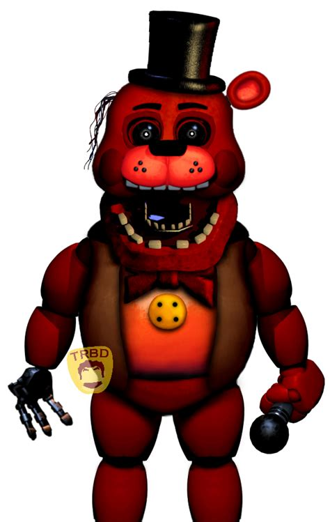 toy redbear  therealboreddrawer  deviantart