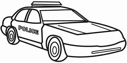 Coloring Police Pages Officer Colouring Outline Printable