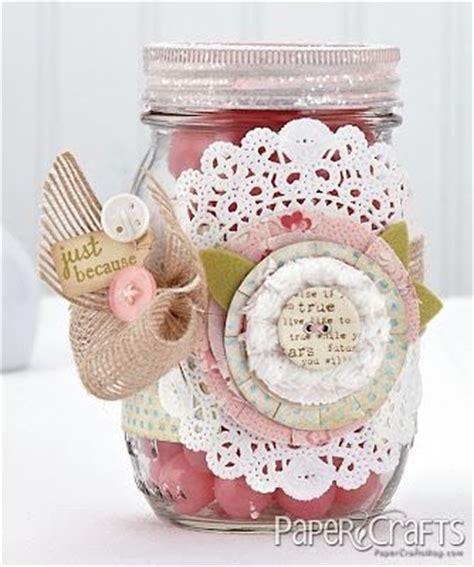 simply shabby chic jar pin by liz on nnnnnn pinterest