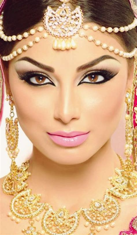 arabic bridal makeup tutorial  steps pictures