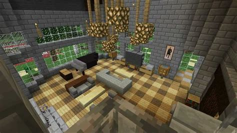 minecraft furniture guided mansion  part  youtube