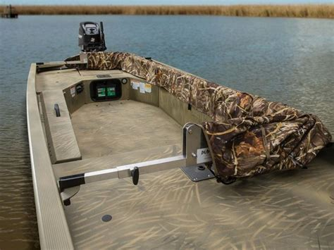 Versatrack Boat Duck Blind by Tr Choice Vantage Duck Boat
