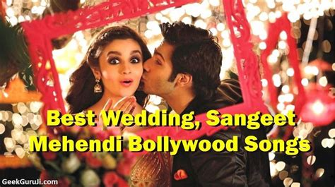 60 Dance Songs For Wedding Sangeet (wedding Songs Hindi