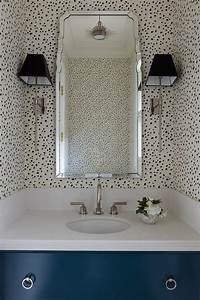 Bathrooms Thibaut Tanzania Wallpaper Black On Cream Design ...