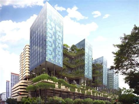 Groundbreaking Park Royal Tower Draped With Curtains