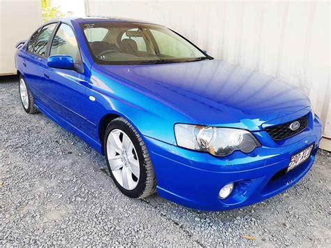 ford falcon bf mk ii xr sedan  blue  vehicle sales