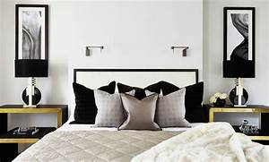 35 Timeless Black And White Bedrooms That Know How To ...
