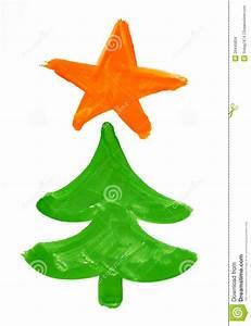 Albero Di Abete Di Natale Disegno Dell'acquerello Sul Documento Immagini Stock Immagine: 26445804