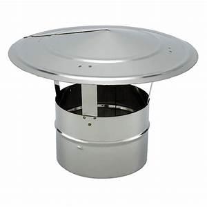 Chapeau Inox Pour Tubage : chapeaux chinoi en inox 304 pour tube simple paroi vm ~ Edinachiropracticcenter.com Idées de Décoration