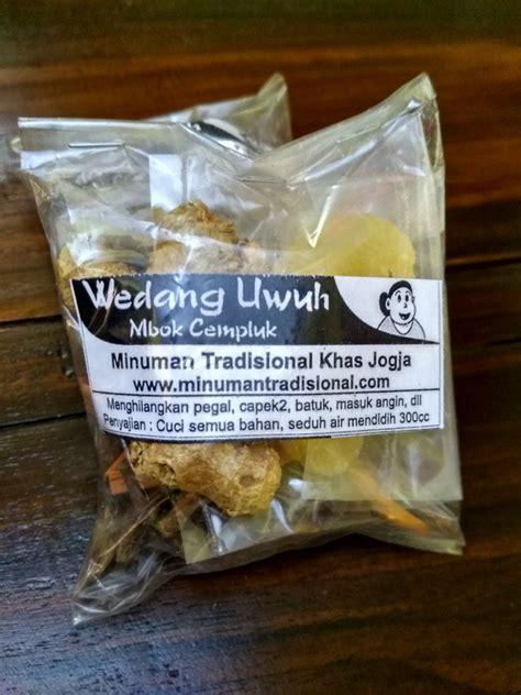wedang uwuh mbok cempluk isi pcs minuman tradisional