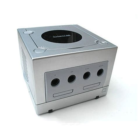Cube Console by Nintendo Gamecube Console Only Silver Pre Owned The