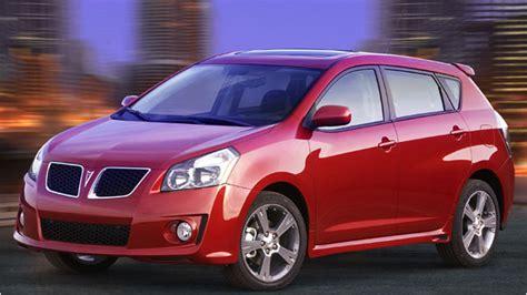 2009 Pontiac Vibe And 2009 Toyota Matrix