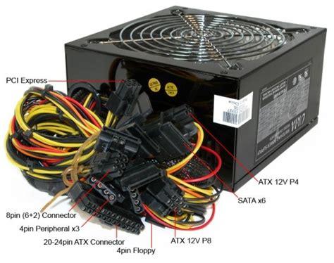 Atx Power Supply Connectors Circuit Diagram World