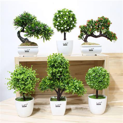 bola rumput bonsai kecil kreatif beludru hijau pot buatan