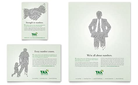 accounting tax services flyer ad template word