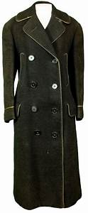 1900 Mens Peacoat Fisherman Double Breasted Wool Winter