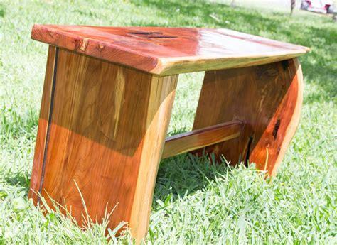 cedar slab  edge bench  jerbone  lumberjockscom