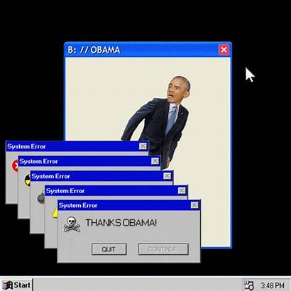 Error Windows Computer Crash System Gifs Obama