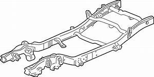 2004 Chevrolet Silverado 1500 Frame Rail  Front   4wd  4wd