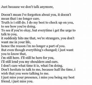 I MISS YOU BEST FRIEND QUOTES TUMBLR image quotes at ...