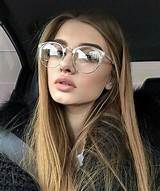 girl glasses and tumblr image Chic glasses Hipster