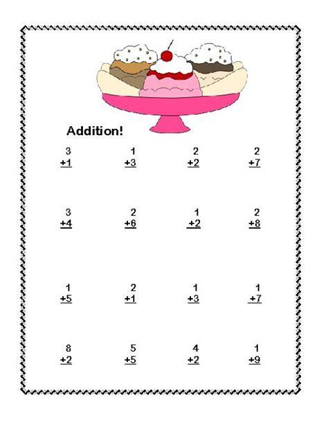 Math Worksheets For 1st Graders Subtraction  First Grade Math Worksheets Addition With