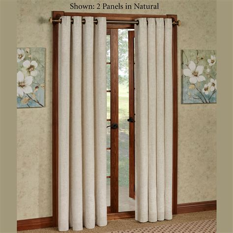 grommet curtain panels new castle textured grommet curtain panels