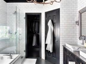 pictures of black and white bathrooms ideas timeless black and white master bathroom makeover bathroom ideas designs hgtv