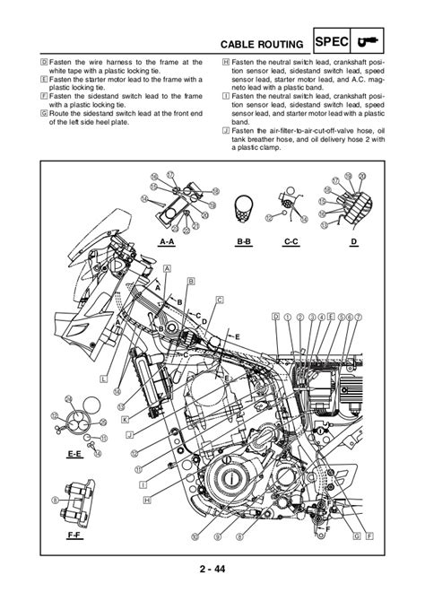 manual servi 231 o yamaha xt660 manual ingles