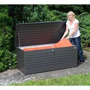 Biohort Freizeitbox 180 : biohort freizeitbox 180 in dunkelgrau metallic 499 00 ~ Watch28wear.com Haus und Dekorationen