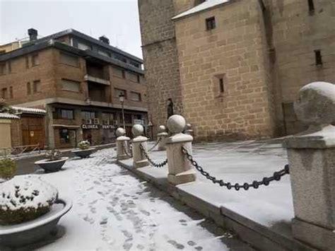 Nieve en El Espinar Segovia con Guia YouTube
