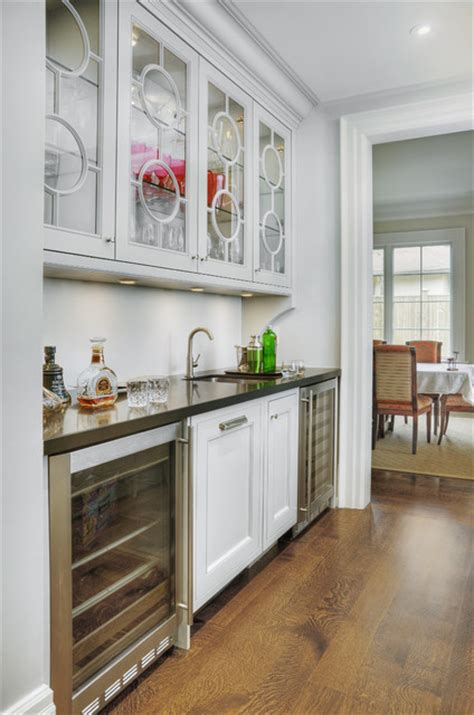servery transitional home bar toronto  braams custom cabinets