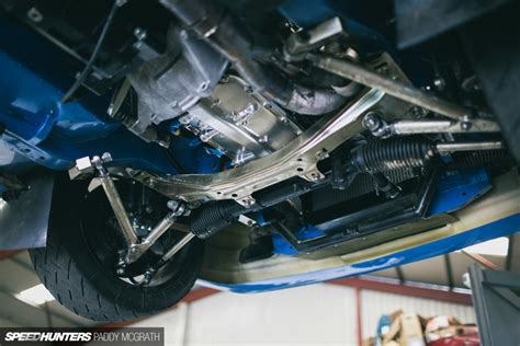 car rear suspension improving a legend a modern e30 m3 rally car speedhunters