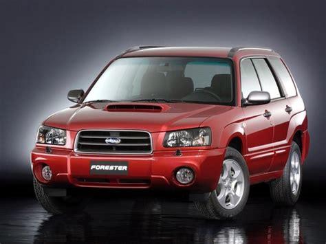 1999-2004 Subaru Forester Service & Repair Manual