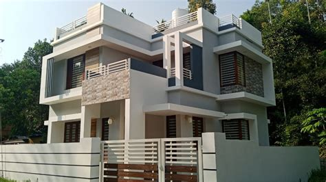 sq ft bhk modern contemporary style  floor house