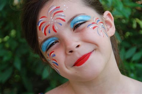 Fireworks Face Painting Fun!