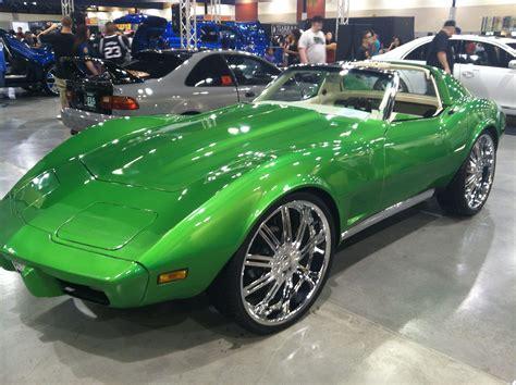 Classic Corvette From The Phoenix Dub Magazine Car Show