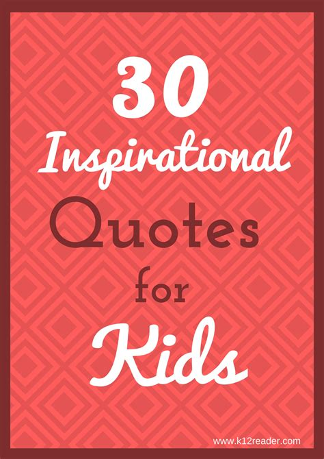 inspirational quotes  kids