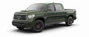 Available 2020 Toyota Tundra Interior And Exterior Color